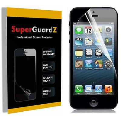 4X SuperGuardZ HD Clear Screen Protector Film Shield Armor For Apple iPhone SE