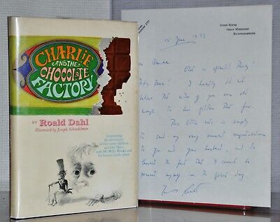 1St/1St Edition W. Dust Jacket~ Charlie And The Chocolate Factory ~ Roald Dahl