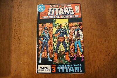 tales of the teen titans #44 (July 1984 Marvel)Key 1st Dick Grayson as Nightwing