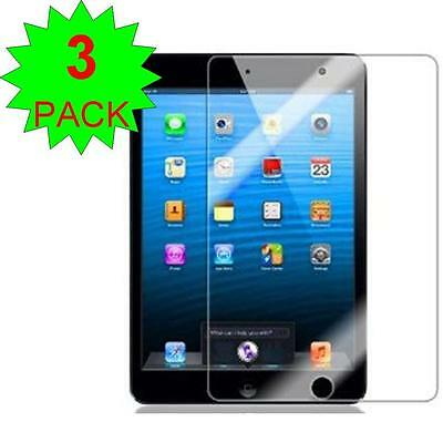 3X Ultra Clear HD Screen Protector Film Cover Guard Shield Apple iPad Mini +KIT