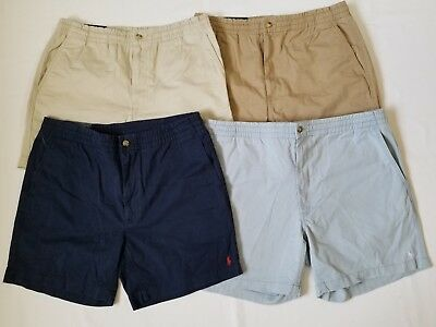 "Polo Ralph Lauren Men's Classic Fit 6"" Drawstring Pony Shorts Pants Great Gift"