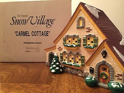 Department 56 Snow Village - Carmel Cottage (FREE SHIPPING - $30 OBO)