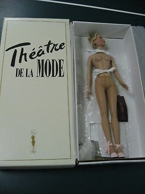 Tonner Dolls Tyler in TDLM -- NUDE DOLL with shoes+ -- NO OUTFIT- FLEURS DU MAL