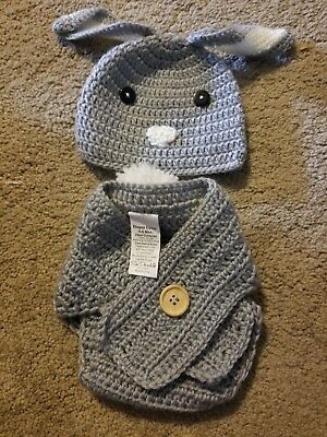 crochet baby bunny photoshoot outfit