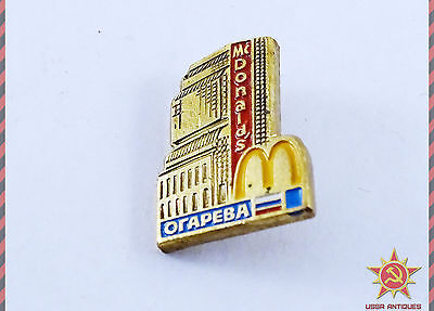 McDonalds Moscow Russia Pin Badge