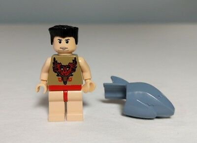Lego Harry Potter Viktor Krum Shark Head 4762 Minifigure Figure