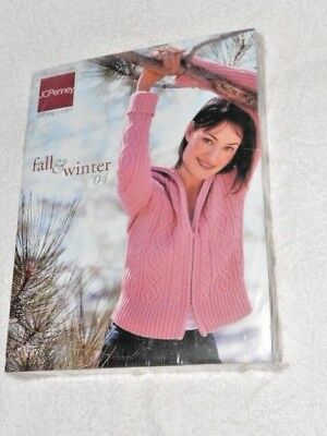 JC Penney Fall and Winter Catalog 2004 in original wrapping