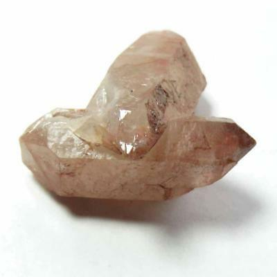 Red Hematite Included Quartz Crystal Cluster From Izizauen Alnif, Morocco  Rq178