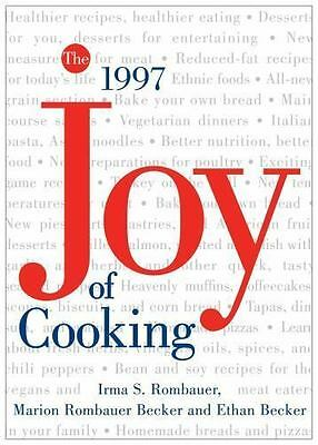 The All New JOY OF COOKING by Irma Rombauer Hardcover Dust Jacket Ribbon Marker