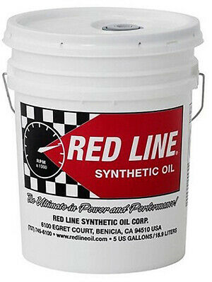 4 x Redline Lightweight ShockProof Gear Oil 18.93L (58406)