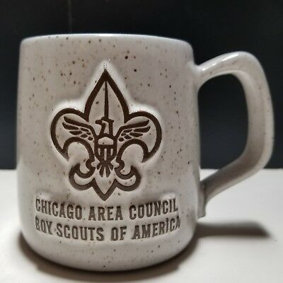 Chicago Area Council Boy Scouts BSA Stoneware Coffee Mug