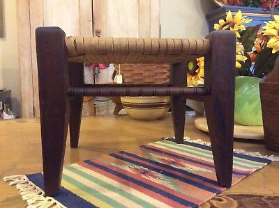 Arts & Crafts Mission ANTIQUE EARLY OAK/ FOOT REST,