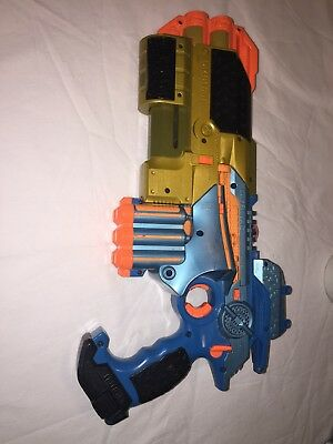 Tiger PHOENIX LTX Blue Lazer Tag Gun w/ ShotGun & Scope Attachment Laser