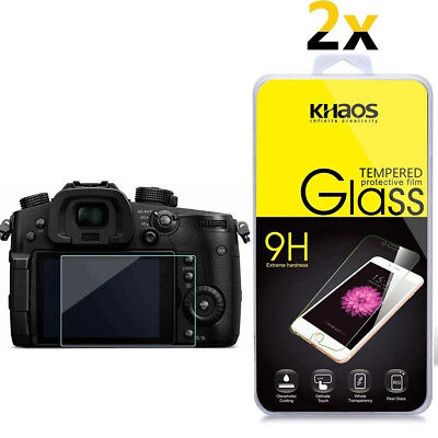 2-Pack Khaos For Panasonic Lumix GH5 Tempered Glass Screen Protector