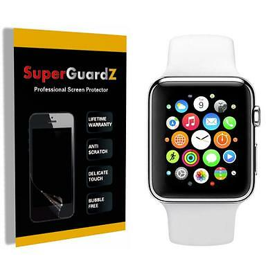 4X SuperGuardZ HD Clear Screen Protector Film Cover Shield for Apple Watch 42 mm