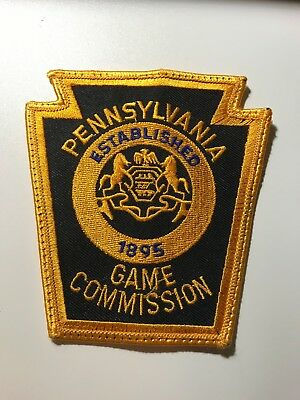 Old Pennsylvania Fish and Game Warden PA Police Patch