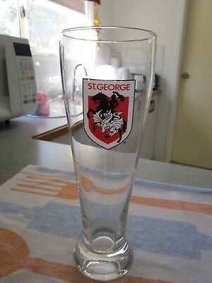 St George Dragons Vintage Beer Glass
