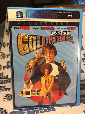 Austin Powers in Goldmember Widescreen Edition DVD (2005, Infinifilm) Mike Myers