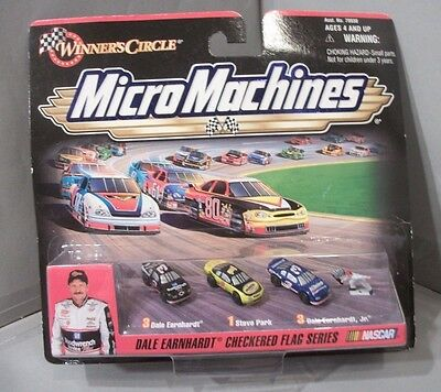 MicroMachines NASCAR Dale Earnhardt Checkered Flag Series Vehicles by Galoob1999