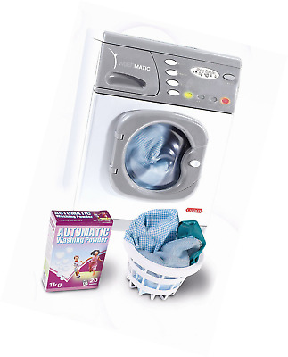 Kids Toy Washing Machine Hotpoint Electronic Washer Spin & Wash Sounds Brand New