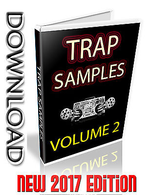 New Trap Sample Collection Volume 2 - Wav Files- Loops + Single Shots - Download