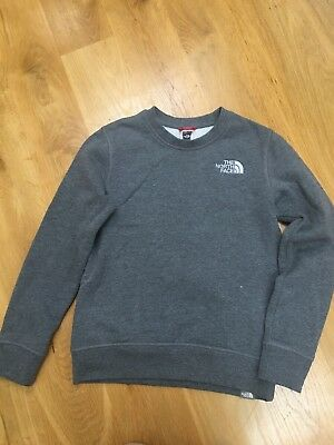 Boys North Face Jumper - Medium Junior (approx 12years)