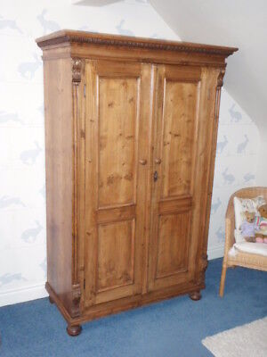 Antique Carved Wardrobe