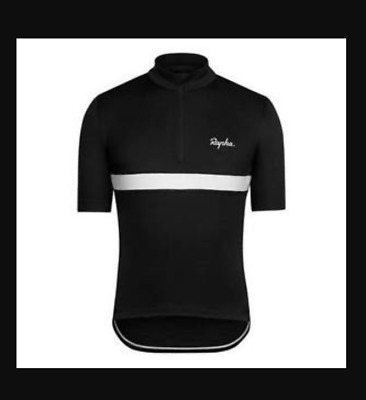 Rapha Club Cycling Jersey Short Sleeve Black - Size Large L