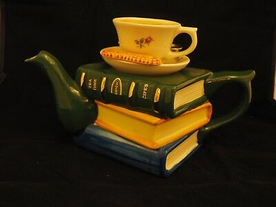 "Genuine Tony Carter ""Pile of Books with teacup"". Limited edition 484/1999"