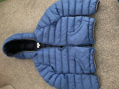 Boys Hugo Boss Lightweight Down Filled Coat Age 8