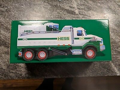 2017 Hess Dump Truck and Loader Brand New in Box - Sold Out