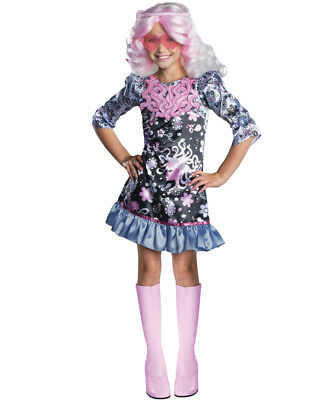 Girl's Monster High Frights Camera Action Viperine Gorgon Costume Large 12-14