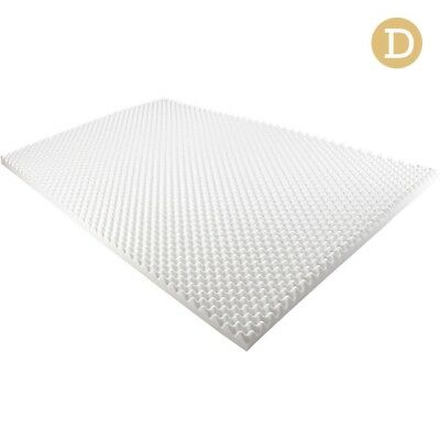 Deluxe Egg Crate Bed Mattress Topper 5 CM Foam Underlay Protector DOUBLE Size
