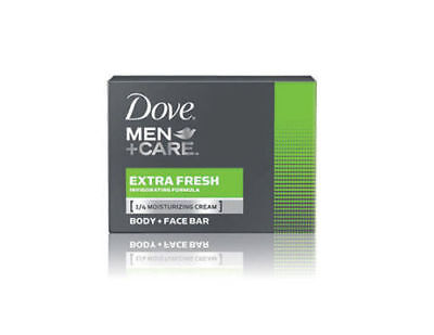 NEW Dove Men Care Extra Fresh Body + Face Bar Dove Soap 90gr FAST DELIVERY