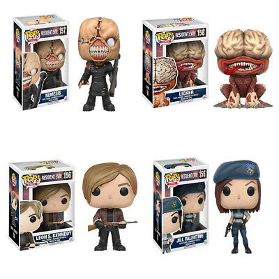 Funko Pop Games Resident Evil Action Figure Toy Decorative model doll