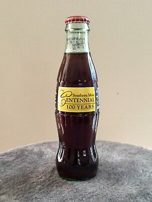 University of Southern Miss Centennial 1910-2010 Coca Cola bottle