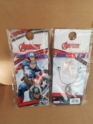 * WHOLESALE JOB LOT 48 x NEW CAPTAIN AMERICA BRACELET + NECKLACE - NOT PALLET *