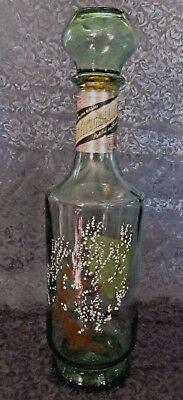 "Old Fitzgerald Bourbon ""Tree Of Life"" Decanter - Empty"