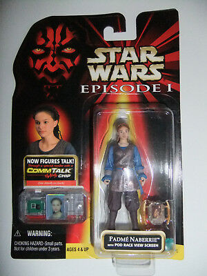 Star Wars Padme Naberrie with Pod Race View Screen Episode 1