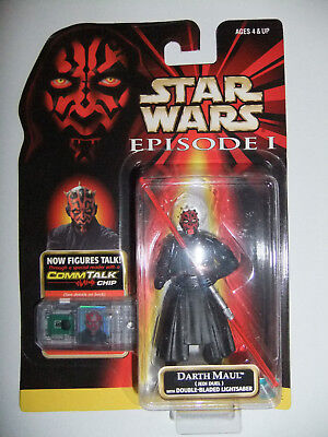 Star Wars Darth Maul (Jedi Duell) with Double-Bladed Lightsaber Episode 1