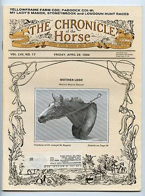 Chronicle Of The Horse 4/29/94 Mother Lode
