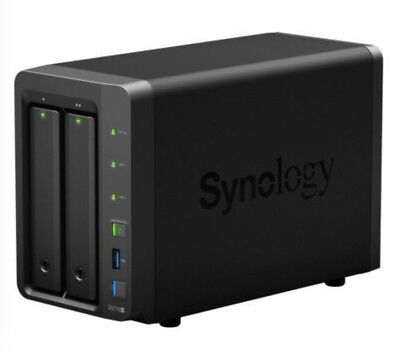Synology Diskstation DS718+ NAS System 2-Bay, Wie Neu