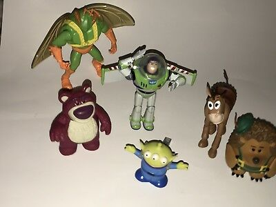 TOY STORY 3 Mattel Thinkway Toys Disney Pixar Action FIGURES Pricklepants Lotso