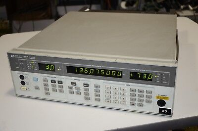 HP Agilent 8657B 2 Ghz RF Signal Generator With Option 002