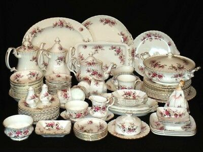 Royal Albert ' Lavender Rose '  Tea Set And Tableware - English Bone China