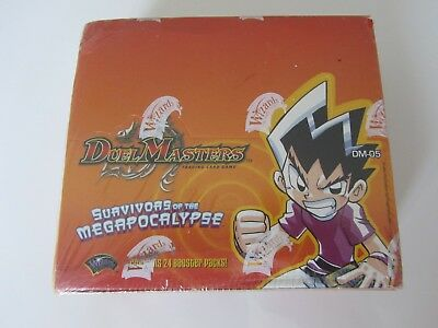 Duel Masters TCG - Survivors of the Megapocalypse Booster Box DM-05 New / Sealed