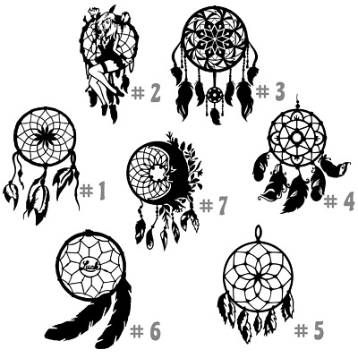 Native American Vinyl Decal Sticker Car Window Wall Laptop Spirit Indian Symbols