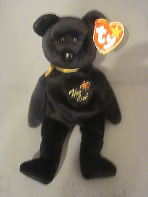 Plush Ty Beanie Baby Teddy Bear The End