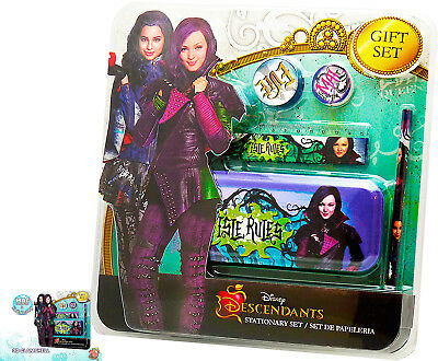 DESCENDANTS WRITING SET STATIONERY DESCENDANTS SET 5 Pcs EVIE and MAL