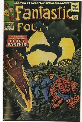 FANTASTIC FOUR 52 2006 reprint VF 1st app Black Panther Marvel's Greatest Comics